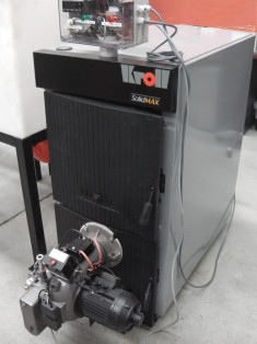 Sm8 Domestic Hydronic Waste Oil Boiler